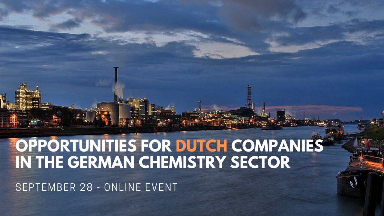 Opportunities for Dutch companies in the German chemistry sector