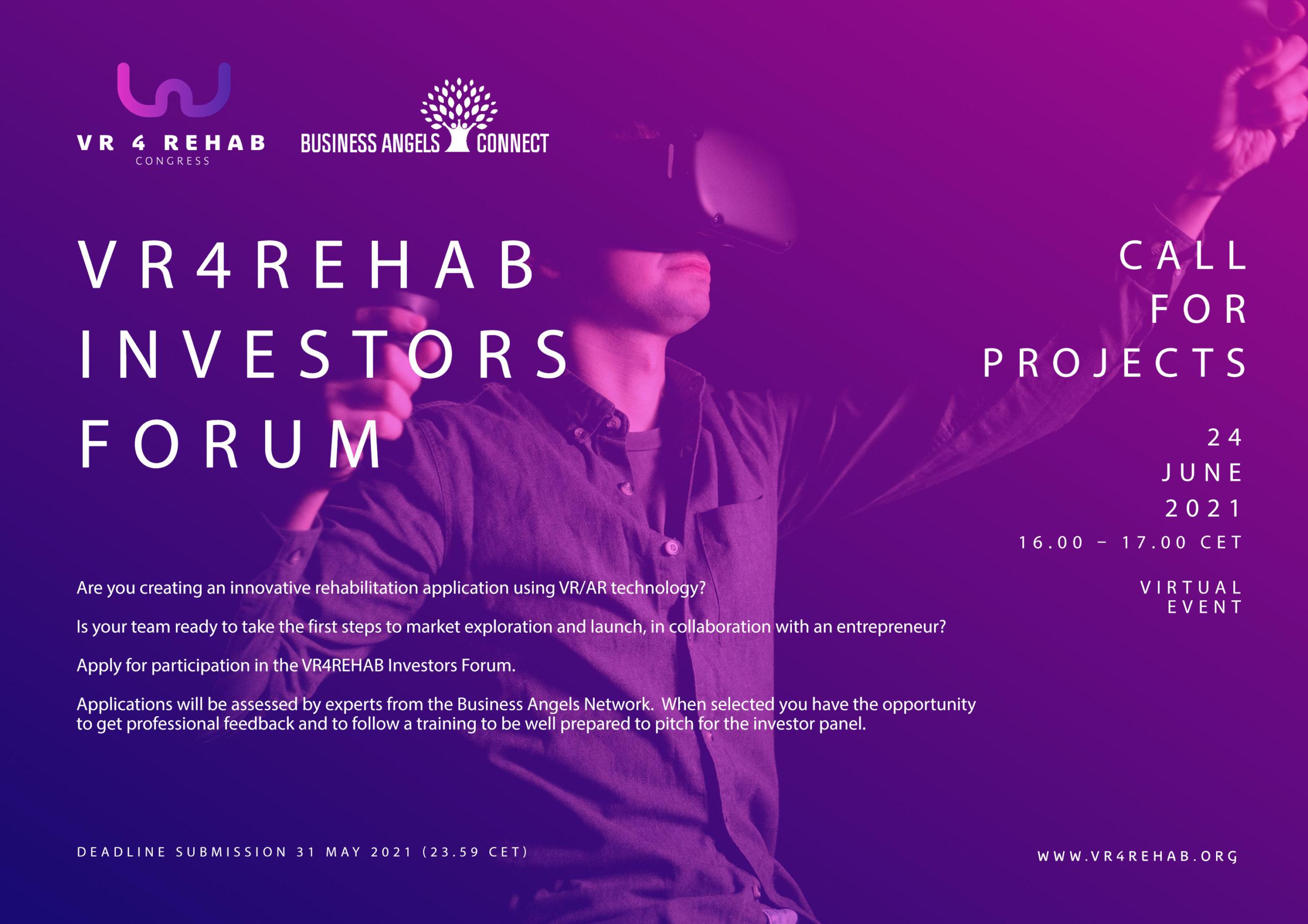 VR4REHAB Investor Lounge